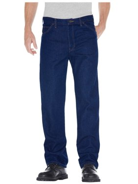 Dickies Men's Regular Straight Fit 5-Pocket Denim Jean