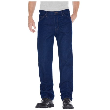- Dickies Men's Regular Straight Fit 5-Pocket Denim Jean