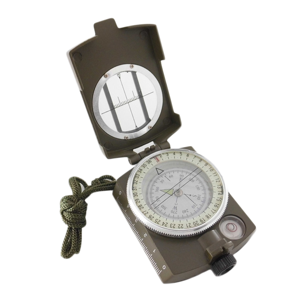 USA Professional Pocket Military Army Geology Compass for Outdoor Hiking Camping by