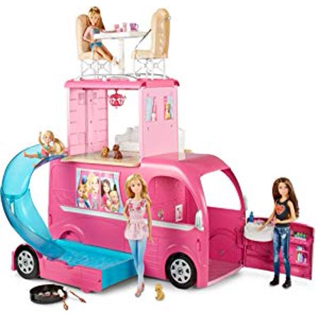 Barbie Pop-Up Camper Vehicle (Camper Van Sink)