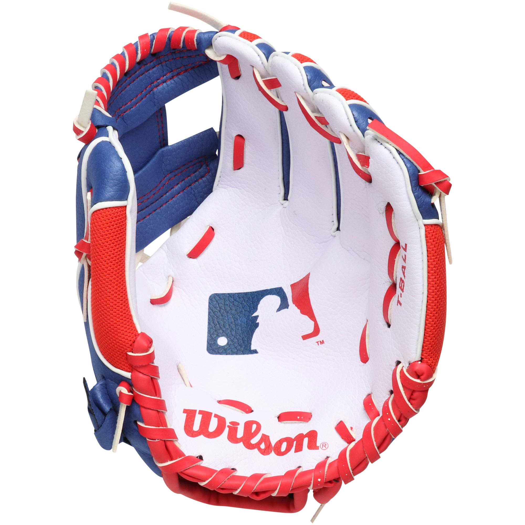 MLB Merchandise Wilson Youth Baseball Tee Ball Glove - No Size
