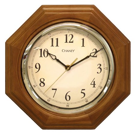 Chaney 46101A1 12 inch Octagon Wood (Chaney Instrument Copper Clock)