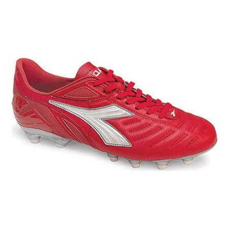 Men's Diadora Maracana L Red Indoor Soccer Shoes