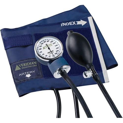 Heritage Series Latex-Free Aneroid Sphygmomanometer, Large Adult