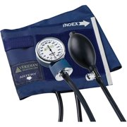 Heritage Series Latex-Free Aneroid Sphygmomanometer, Large Adult