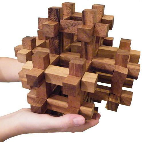 Aramas 3D Wooden Puzzle Brain Teaser by Winshare Puzzles and Games