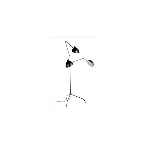 Pink and Brown nsl778f-black Fly Trap Floor Lamp in Black