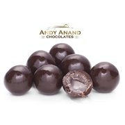 Andy Anand Dark Chocolate Amaretto Cordials Gift Boxed & Greeting Card Mothers Fathers day Birthday Valentine Christmas (1 lbs)