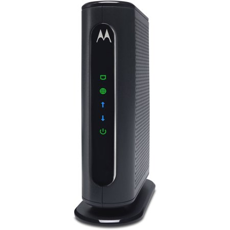 MOTOROLA MB7220 (8x4) Cable Modem, DOCSIS 3.0 | Certified for XFINITY by Comcast, Spectrum, Time Warner, Cox & more | 343 Mbps Max