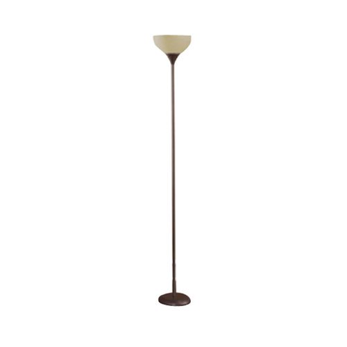 Mainstays metal floor lamp brown walmart mainstays metal floor lamp brown aloadofball Gallery