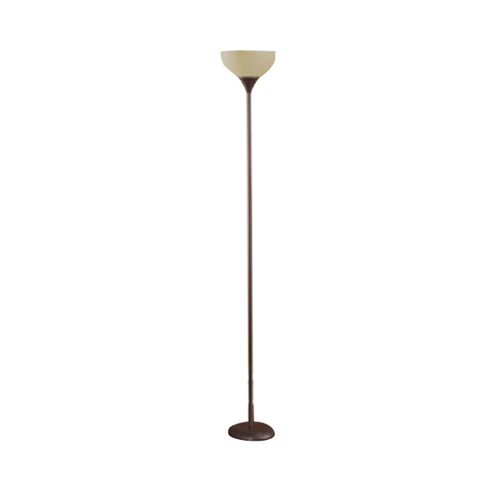 mainstays metal floor lamp brown