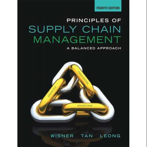 CENGAGE LEARNING 9781285428314 Book,Principles of SupplyChainManagement