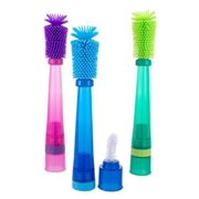 Sassy No Scratch Bottle Brush, Colors May Vary
