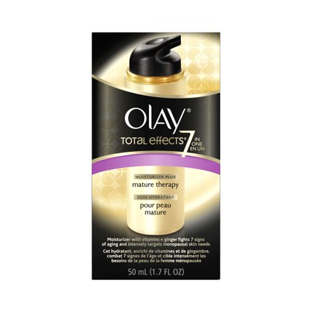 Olay Total Effects Face Moisturizer Plus Mature Therapy 1 7 Fl Oz