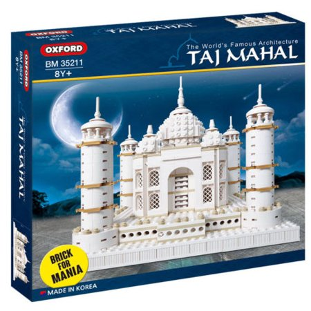 OXFORD BLOCKS TAJ MAHAL Architecture Series COMPATIBLE BUILDING BLOCK SET - Architecture Model Kits