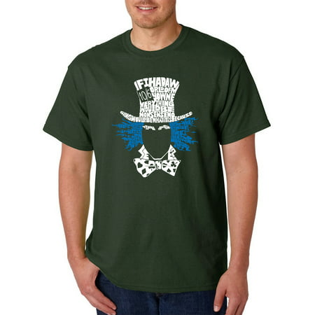 Big Men's t-shirt - the mad hatter - Big And Tall Womens