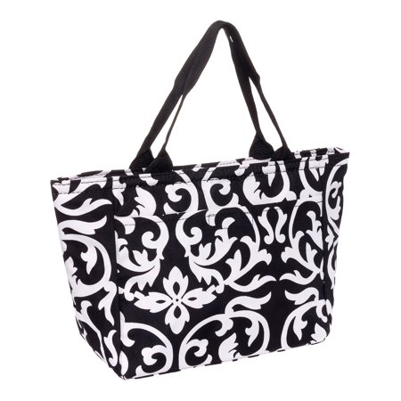 Metal Lunch Pail (SILVERHOOKS NEW Womens Insulated Lunch Tote Pail Bag)