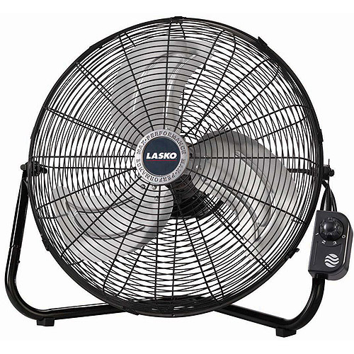 "Lasko Max Performance 20"" High-Velocity Floor Fan"