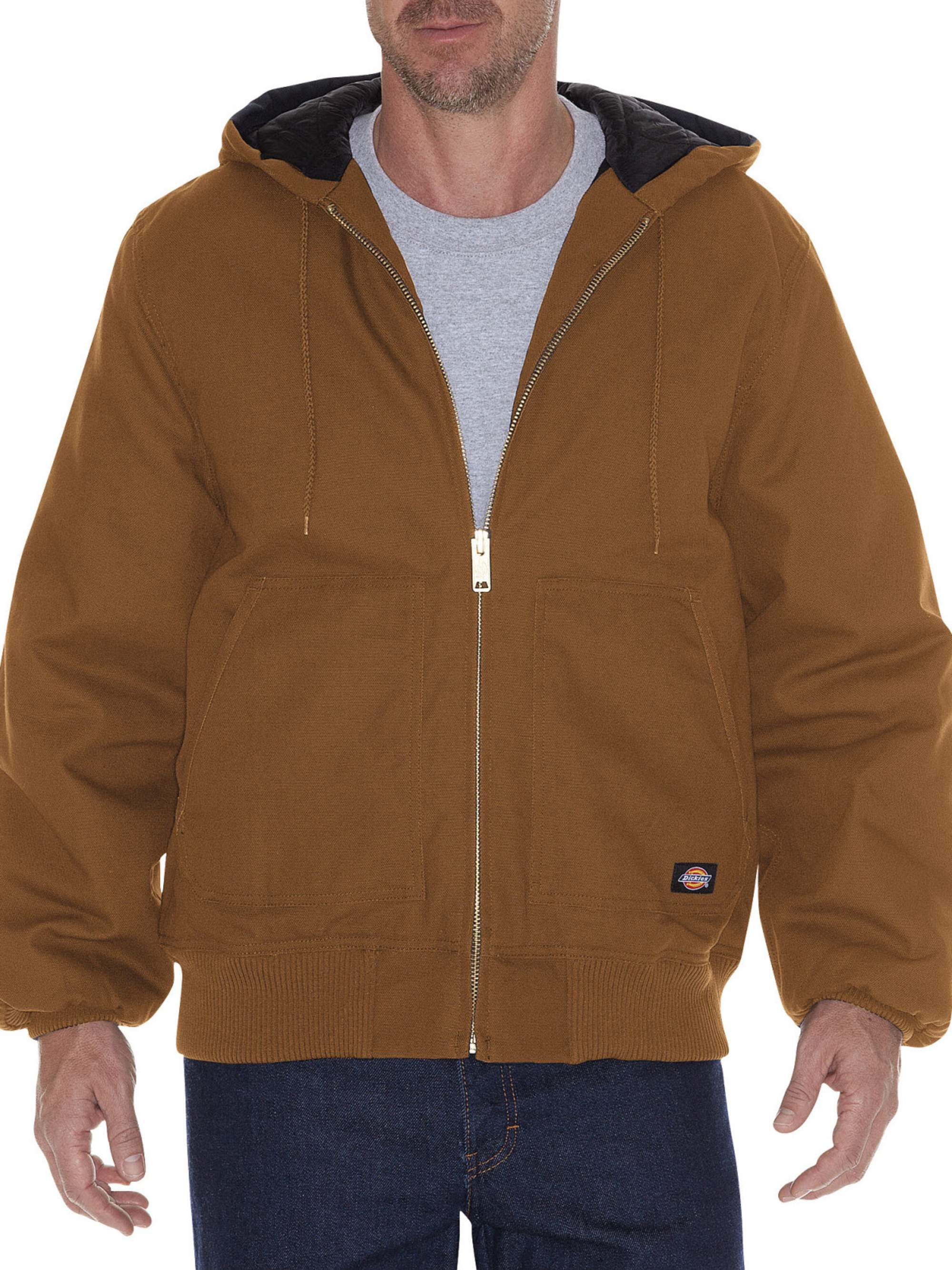 Dickies Big & Tall Men's Rigid Duck Hooded Jacket