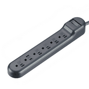 onn. 6-Outlet Surge Protector