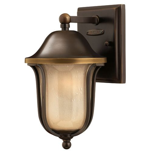 """Hinkley Lighting H2636 11"""" Height 1-Light Lantern Outdoor Wall Sconce from the Bolla Collection"""