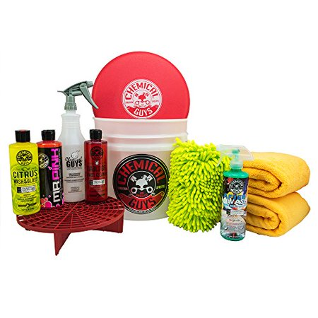 Chemical Guys HOL121 Best Car Wash Bucket Kit (11