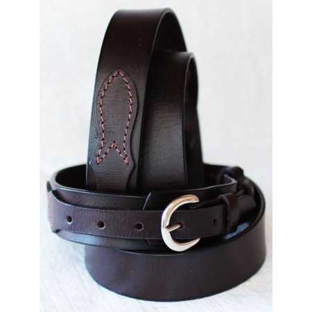 PRORIDER Mens Western LEATHER RANGER BELT 1-1/2