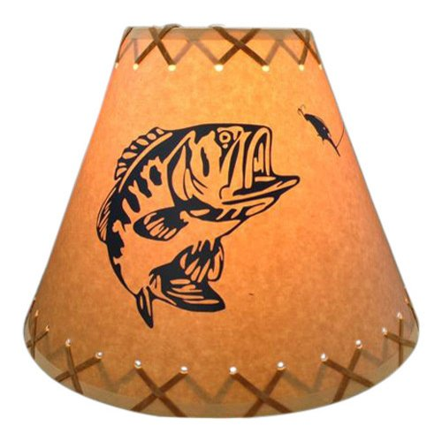 Millwood Pines Bass 12'' Paper Empire Lamp Shade