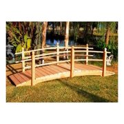 12 ft. Curved Double Rail Span Bridge (Curved Sealed Double Rail)