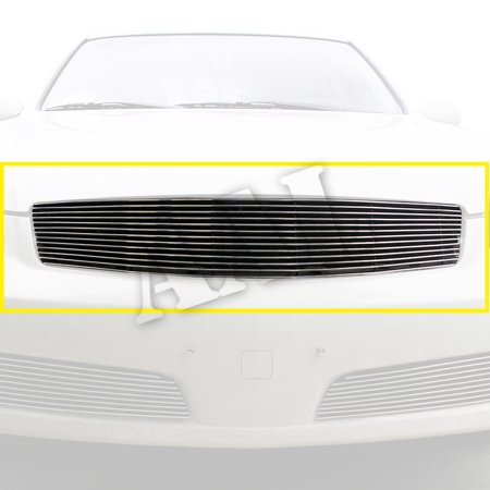 AAL REPLACEMENT BILLET GRILLE / GRILL INSERT For 2005 2006 INFINITI G35 (4 DOOR SEDAN) 1PC UPPER REPLACEMENT W/O LOGO CUTOUT (Infiniti G35 Grill)