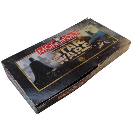 Star Wars Monopoly - Classic Trilogy Edition VG/EX - Monopoly Classic Edition