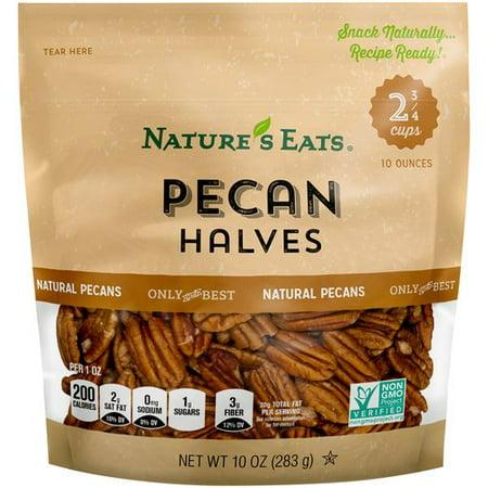 Pecan Halves - Nature's Eats Pecan Halves, 10 oz