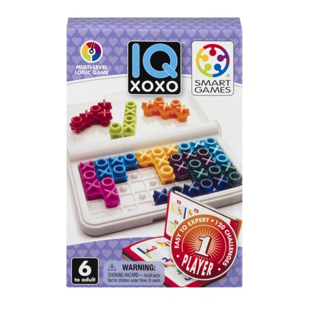 Smart Games IQ XOXO Multi-Level Logic Game, 1.0 CT - Count Your Chickens Game