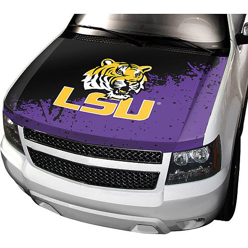 LSU NCAA Auto Hood Cover