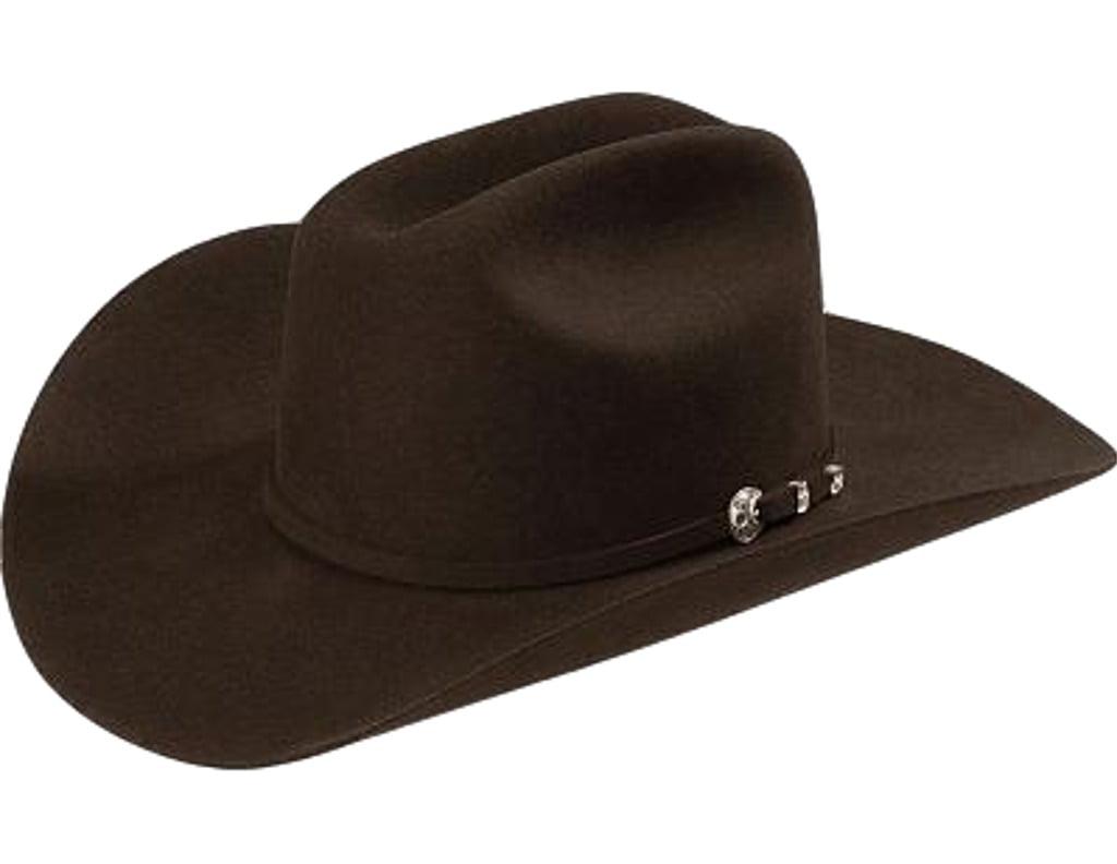dc1296e3 Stetson Western Hat Cowboy 4X Felt Corral Choc SBCRAL-754022 - Walmart.com