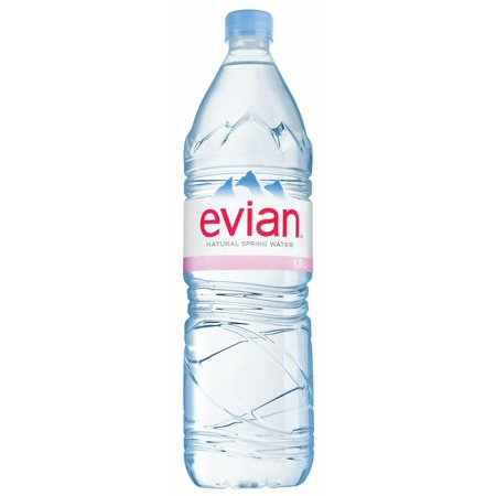 Evian Spring Water (Evian Natural Spring Water, 50.7 Fl Oz, 12-Pack )