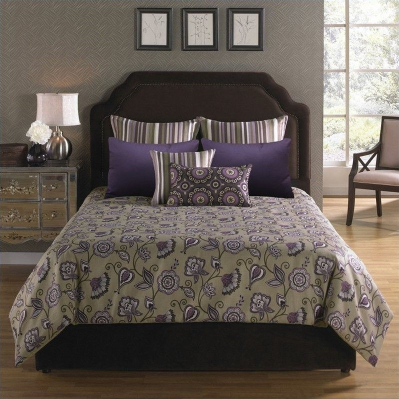Angelo Home USA Bloomfield Park 6 Piece Comforter with Filler Set-King Size