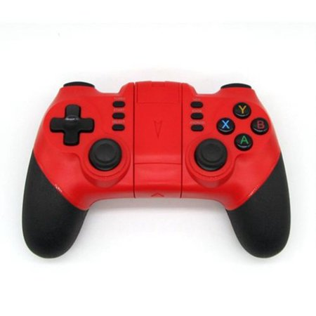 Professional Gaming Controller (FORTNITE Controller Professional NINJA Gaming Joystick Remote Mobile Wireless-red )