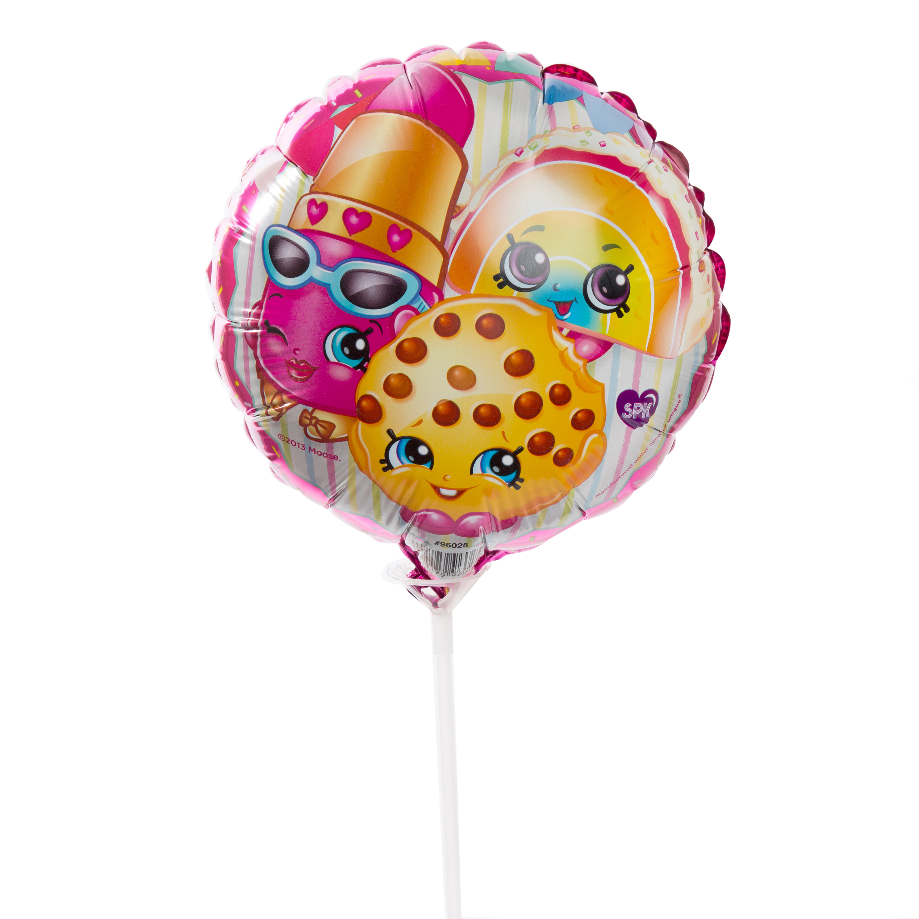 "9"" Foil Shopkins Balloon with Stick"