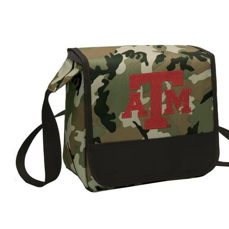 camo tamu aggies lunch bag shoulder texas a m lunch box walmart com