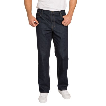 Liberty Blues Men's Big & Tall Liberty Blues Loose Fit 5-pocket Stretch Jeans