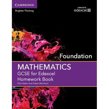 GCSE Mathematics for Edexcel Foundation Homework