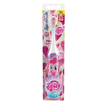 Arm & Hammer Spinbrush My Little Pony, 1 Count, Character May Vary