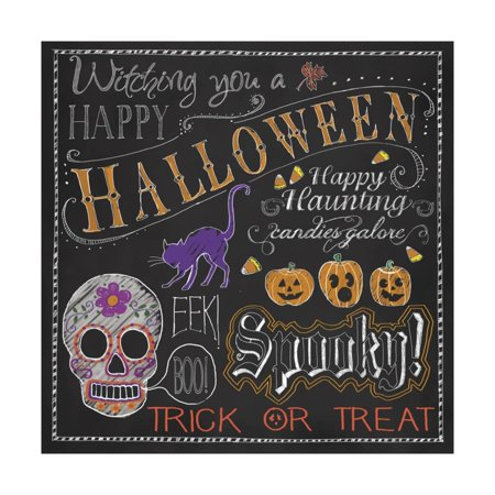 Halloween Mix Print Wall Art By Fiona - Mix Halloween Mp3
