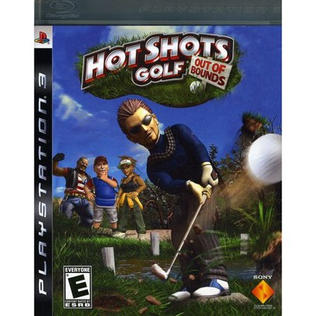 Hot Shots Golf: Out of Bounds - Playstation 3 (Best Ps3 Games Out Right Now)