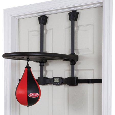 Majik Kids Over The Door Speed Bag - Designed for Kids Play (Boxing Speed Bag Clip)