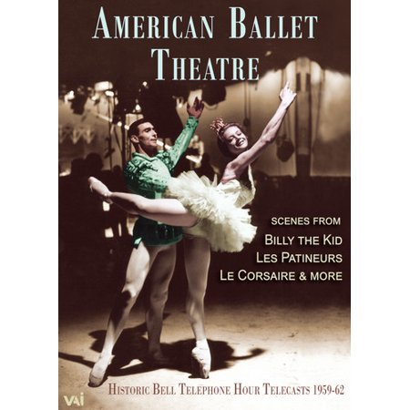 AMERICAN BALLET THEATRE: Historic Bell Telephone Hour Telecasts, 1959-62 (DVD) ()