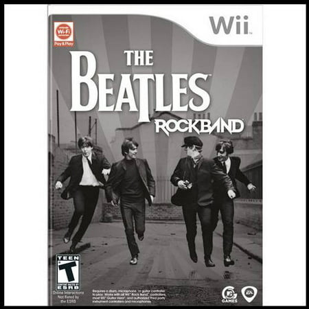 Rock Band: The Beatles (Wii) - Pre-Owned - Game Only