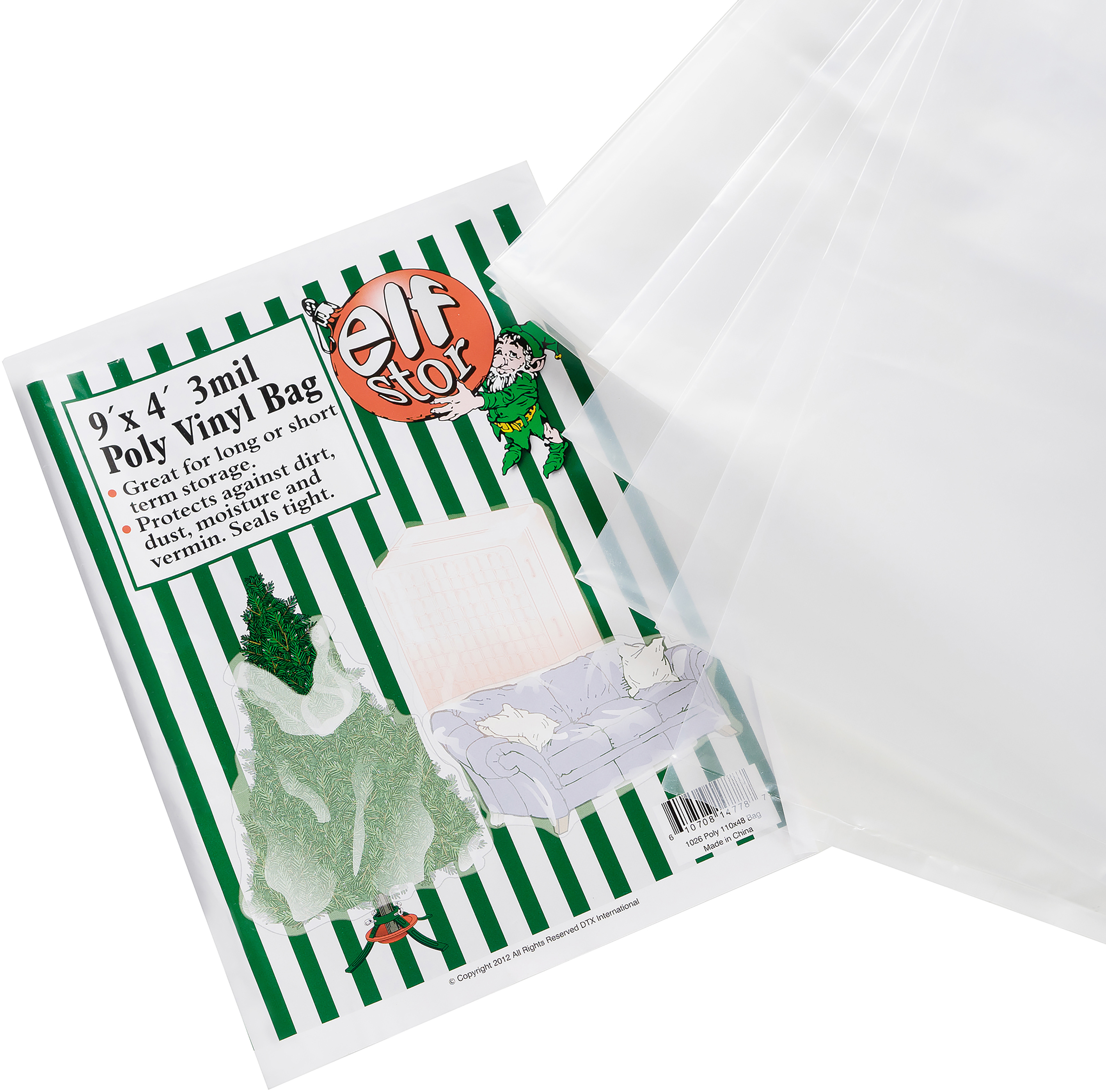 Elf Stor Poly Tree Storage Bag-9'x4'