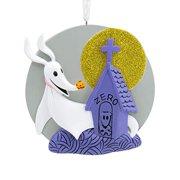 Hallmark Ornament, Disney Tim Burton's The Nightmare Before Christmas Zero With Headstone